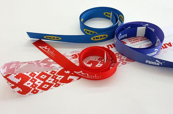 Атласная лента с логотипом: flag.by/catalog/reklama/lenty.html